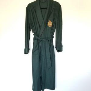ralph lauren polo robe hunter green small